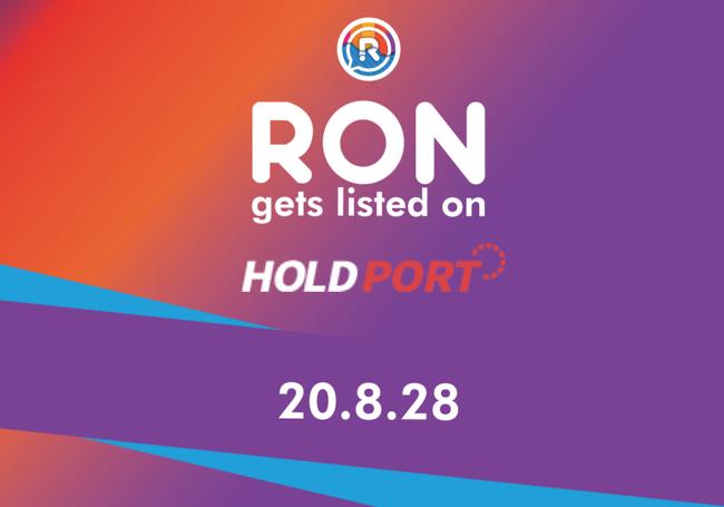 仮想通貨ロン(RON)が本日上場へ